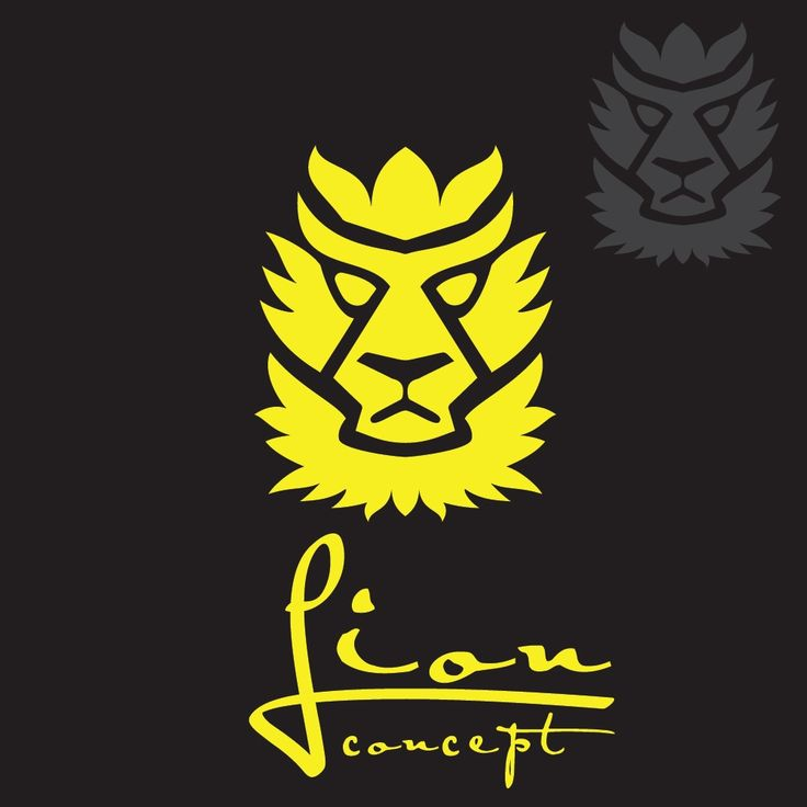 Lion concept 3 designed in a simple way so it can be used for multiple purposes i.e. logo ,mark ,symbol or icon.