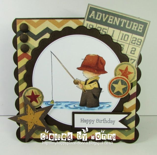 My Happy Place: LOTV Design Collective card - Fab Fisherman