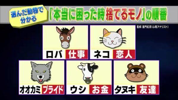 心理テスト。あなたの家にいる5匹の動物、お別れするならどういう順番を選ぶ? | netgeek