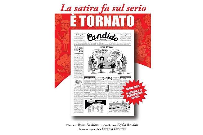Nuova vita per 'Candido', il quindicinale dalla satira sobria a feroce, diretto da Alessio di Mauro