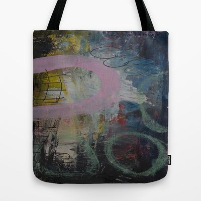 Colors of the week - monday Tote Bag by Helle Pollas - $22.00