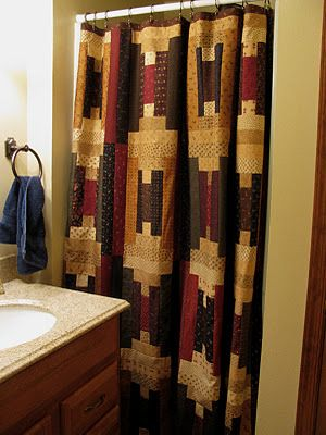 Quilt Design Shower Curtain