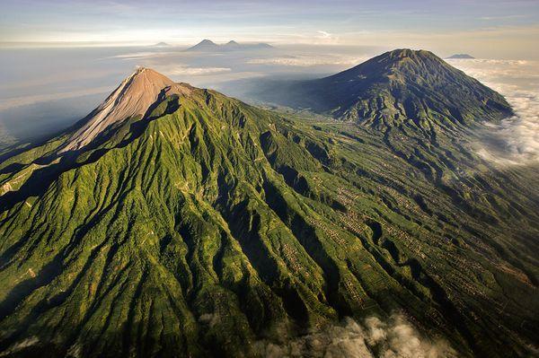 Merapi volcano (Central Java, Indonesia)