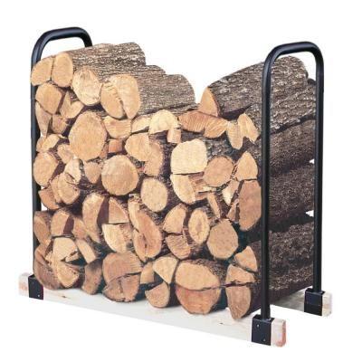LANDMANN Adjustable Firewood Rack Bracket Kit-82424 at The Home Depot