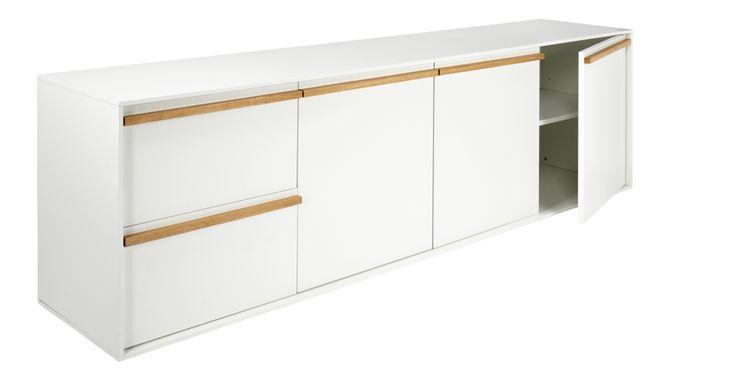 570E Gimm - Buffet bas blanc - Habitat