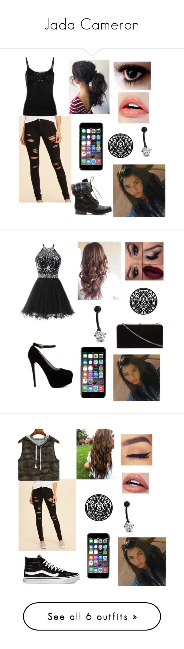 """""""Jada Cameron"""" by alyssa-lynch-07 ❤ liked on Polyvore featuring Bling Jewelry, Dolce&Gabbana, Hollister Co., Boohoo, Dorothy Perkins, Vans, Abercrombie & Fitch, Pilot and T-shirt & Jeans"""