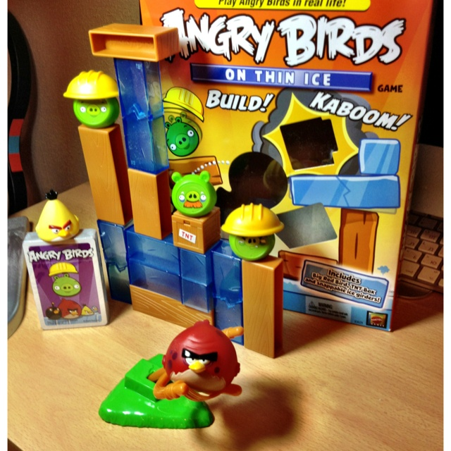 Angry Birds coming: Favorite Places, Angry Birds