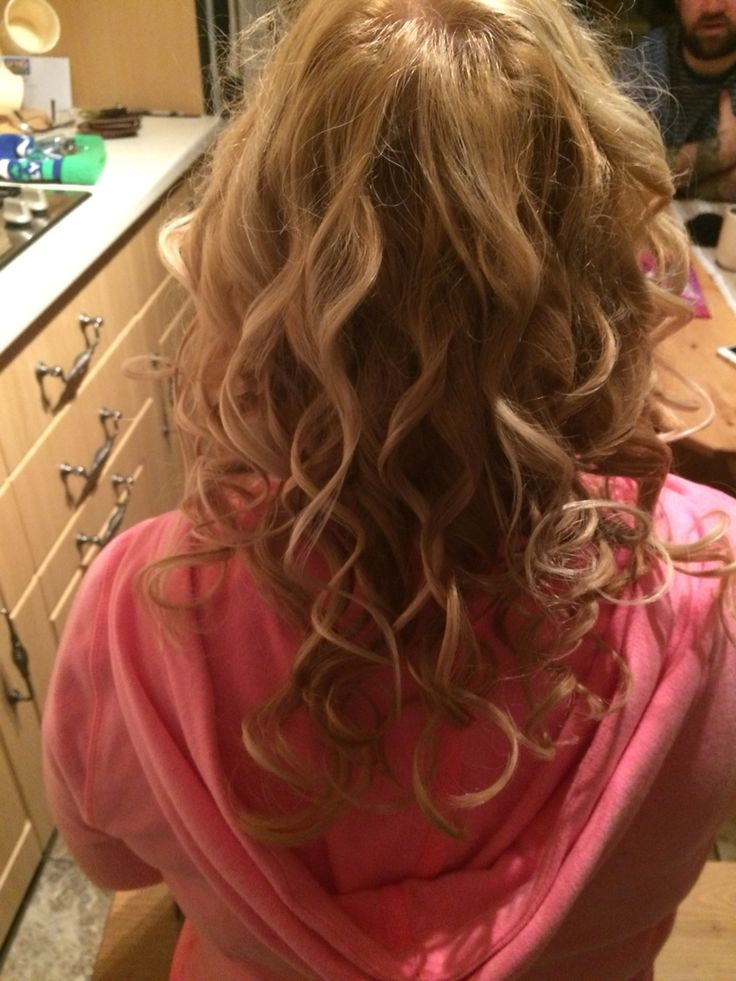 Curls using the babyliss pro curlers