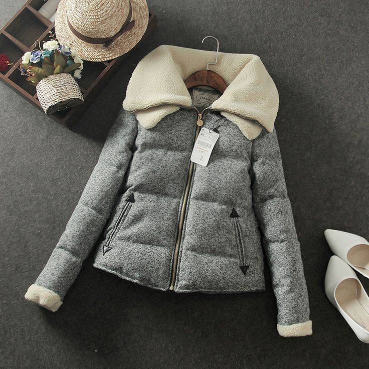 Mujer de algodón de invierno abrigo de espesamiento térmico wadded diseño corto delgado parkas de algodón acolchado más tamaño abrigo en Parkas y Plumas de Moda y Complementos Mujer en AliExpress.com | Alibaba Group