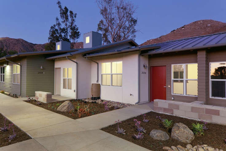 The San Pasqual Academy Housing and Administration Center Building is a LEED Platinum Certified building, among only five LEED for Homes Platinum certification projects in the County of San Diego. The new 7,000 sq. ft. AdministrationCenter is LEED Silver Certified. #RNTArchitects #architecture #design #Escondido