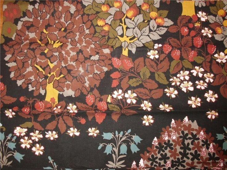 RETRO! Snyggt mönstrat ÖRNGOTT - 70-tal ! på Tradera.com - Sängkläder |