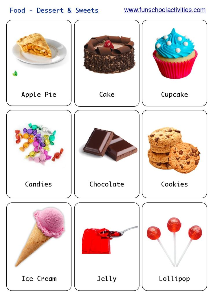 Flashcard, Desserts and Sweet on Pinterest