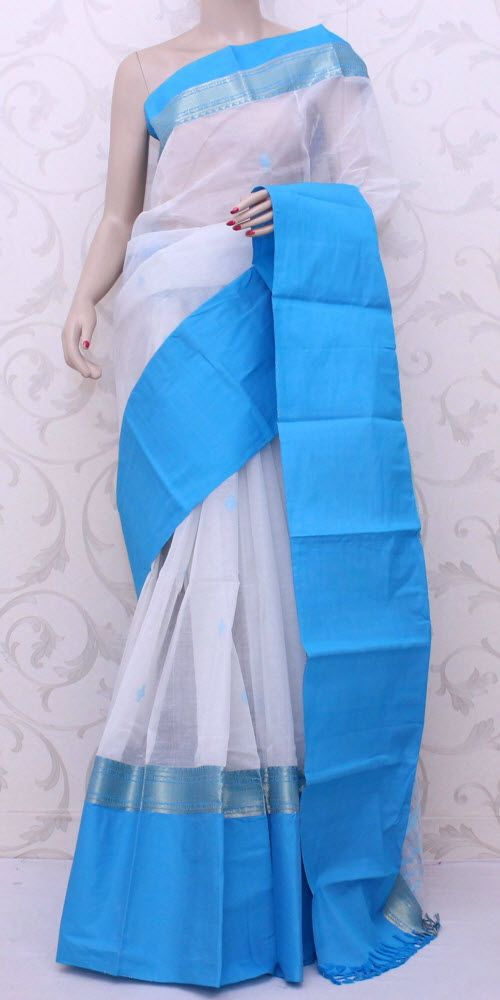Bengal Handloom Tant Saree (W/B-Cotton) 13067