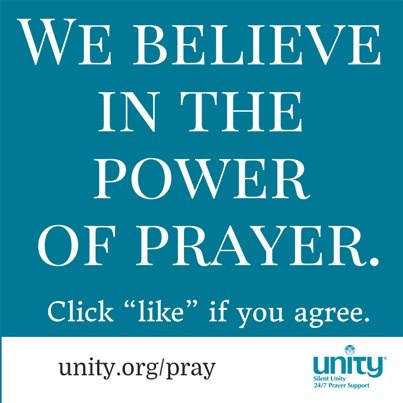 we believe in the power of prayer unity inspirational