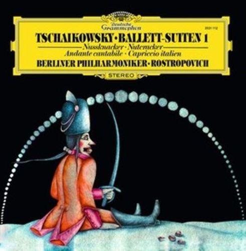 Tschaikowsky: Ballett-Suiten 1 Nussknacker (Nutcracker); Andante cantabile; Capriccio italien [LP] - Vinyl
