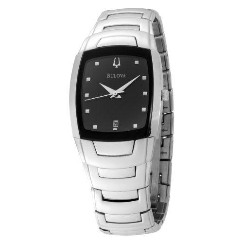 Bulova Men's 96G46 Stainless Steel Watch