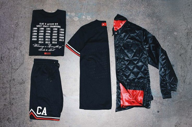 Active Ride Shop and CLSC West Coast Champs Collection