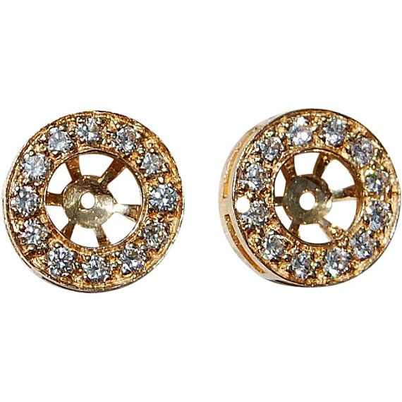 You may ask yourself - what is a diamond earring jacket? Why do my diamond earrings need a jacket? Well, sometimes diamonds need jackets. A jacket is a term used to describe jewelry that fits around jewelry - so your engagement ring could get a jacket or in case we are coveting a jacket for our diamonds studs. If this all sounds confusing - imagine this - a few years ago, you got a lovely pair of diamond studs and you love them death but want something to spice them up - diamond jac...