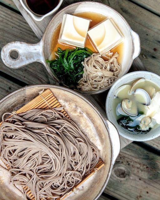 Japanese noodle, Soba