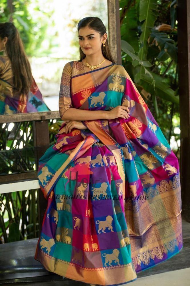 03d4581591 New Latest Designer Indian Pure Silk Banarasi Silk Saree Kanchipuram Sari  S50 #fashion #clothing #shoes #accessories #worldtraditionalclothing ...