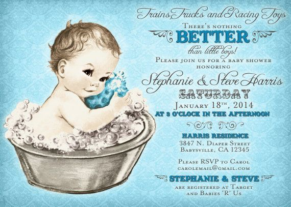 Hey, I found this really awesome Etsy listing at https://www.etsy.com/listing/170695046/coed-baby-shower-invitation-for-boy