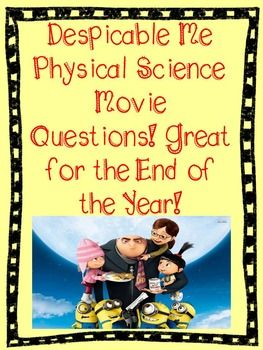 This is a great reward for the end of the year or when you are doing your state testing. It contains 18 questions with answers that relate to Physical Science. Students do not have to watch the movie to be able to answer these. Some of the questions relate to energy, matter, lab safety, simple machines, and more. **Note** this product can also be found in:Physical Science Movie Questions Bundle!
