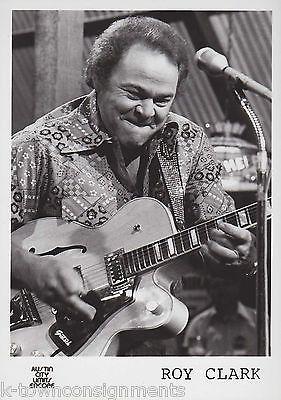 Roy Clark Country Music Singer Vintage Austin City Limits Promo Photo