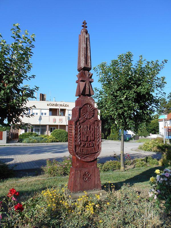 1848-as emlékmű (Bajna) http://www.turabazis.hu/latnivalok_ismerteto_4976 #latnivalo #bajna #turabazis #hungary #magyarorszag #travel #tura #turista #kirandulas