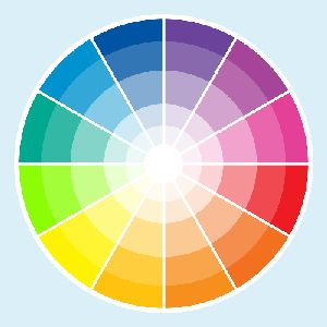 Some People Have Asked Me For My Color Wheel There Are Much More Advanced Wheels But I Use A Simple One Like This To Feel The Colors Rat