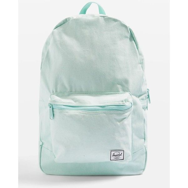 Day Backpack by Herschel (195 SAR) ❤ liked on Polyvore featuring bags, backpacks, aqua, aqua bag, polyester backpack, aqua backpack, herschel bag and knapsack bag