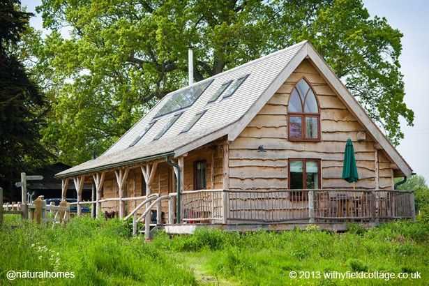 17 best images about cottages in the woods on pinterest cob houses cottage in and storybook - Houses woods nature integrated ...