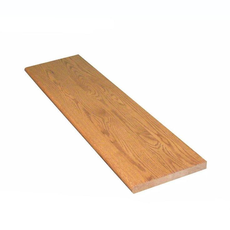 Best Stairtek 1 In X 11 5 In X 36 In Prefinished Gunstock Red 400 x 300