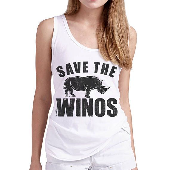 Save The Winos Tank Unisex Tank Top Tequila Tank Humor Tees