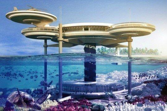 Уникальный подводный отель в Дубае стоимостью пол миллиарда долларов!