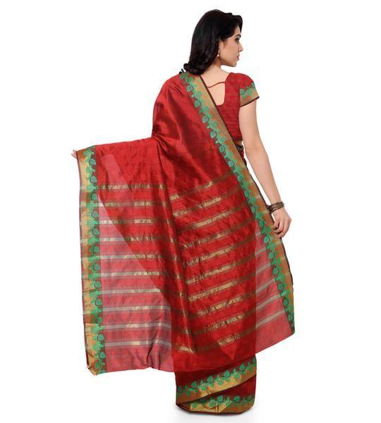 Beautiful Collection ofBanarasi Silk SareesOnline at Ladyindia.com, we offer ...Saree color.... Buy Redembroidered banarasi silk sareeWithBlouse banarasi-silk-sareeonline ... Buyredplain art_silksareewithblouse banarasi-silk-sareeonline.