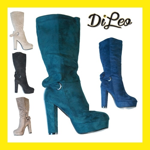 Wide Range Colour High Heel Boots 58-2  on my Fashion United.  At great price!  www.dileocalzature.it