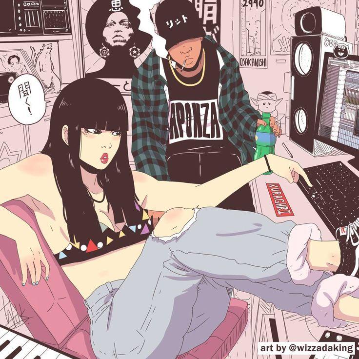 Wizzadaking Wizz Wizz Art Cartoon Art Anime Art