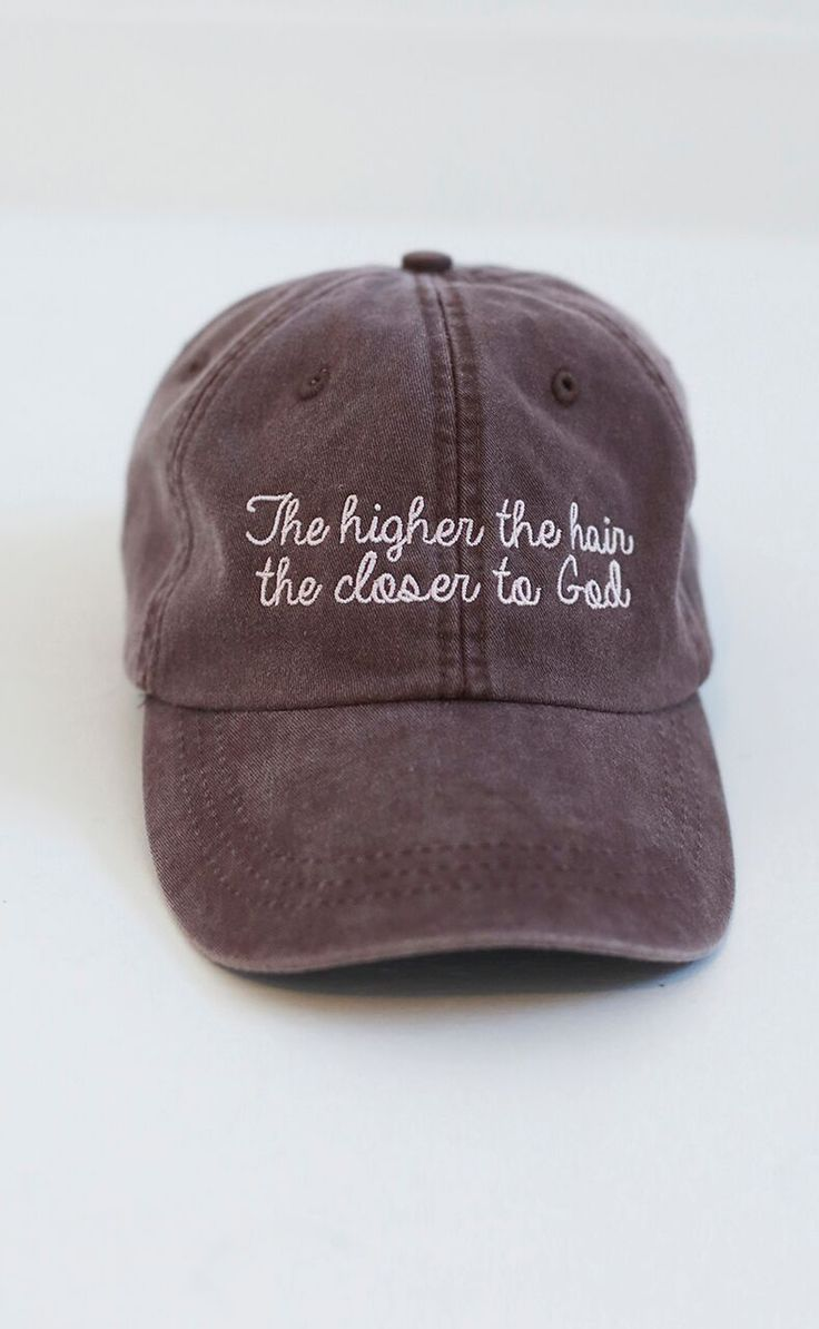 You know what they say.. the higher the hair the closer to God! We're obsessed with this new Charlie Southern hat!