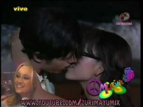 Patito y Mateo beso de lenguita atrevete a soñar en acapulco - YouTube