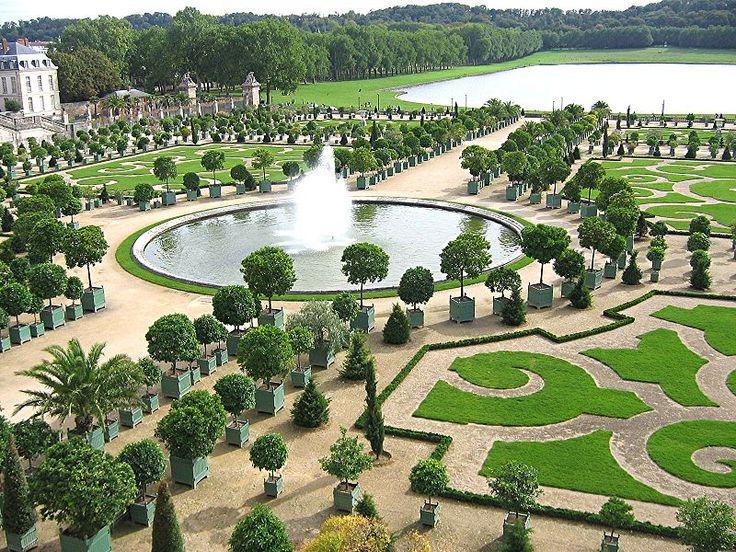 le jardin la franaise ou jardin classique est un jardin ambition esthtique botanical gardensgarden designpalace - Garden Design Birds Eye View