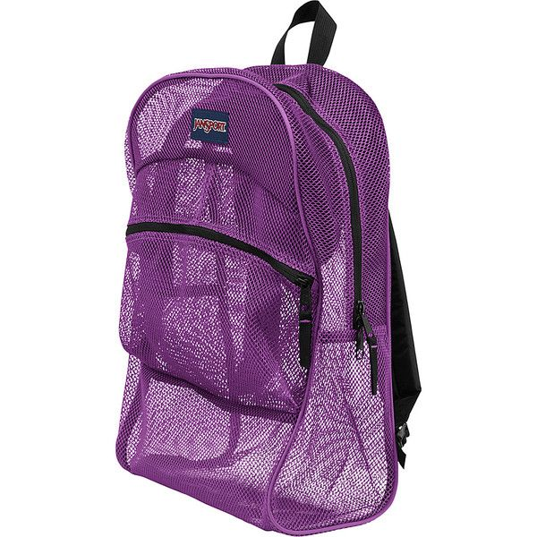 JanSport Mesh Pack Backpack 30 Liked On Polyvore Featuring Bags Backpacks