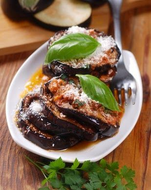 Eggplant Parmesan (with feta!!) in the CrockPot Slow Cooker -- an easy &…