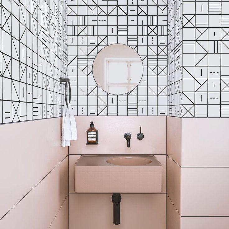 Wallpaper : Indian Chief© // White #ContemporaryInteriorDesign #LuxuryKitchens