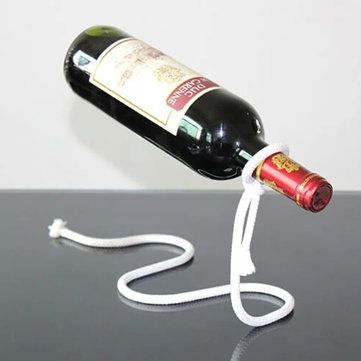 European Style Practical Dangling Stents Wine Bottle Holder Hanger Red Wine Rack Support Bracket