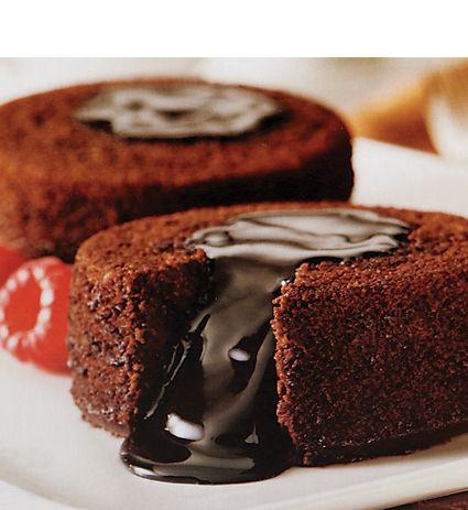 Hot Cakes Molten Chocolate Factory