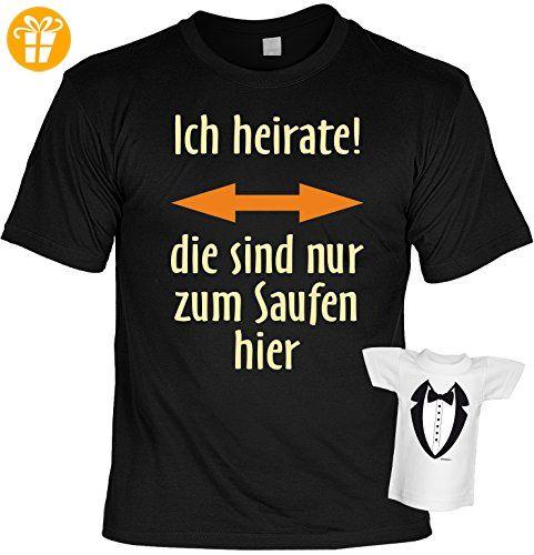 witziges und tolles T-Shirt: Ich heirate Farbe: schwarz (*Partner-Link)