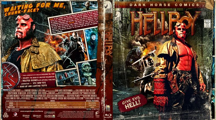Hellboy Blu-ray Custom Cover