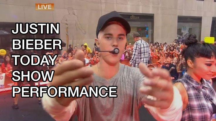 Justin Bieber Today Show Performance, #BieberTODAY, Temper Tantrum #justinbieber #music #today