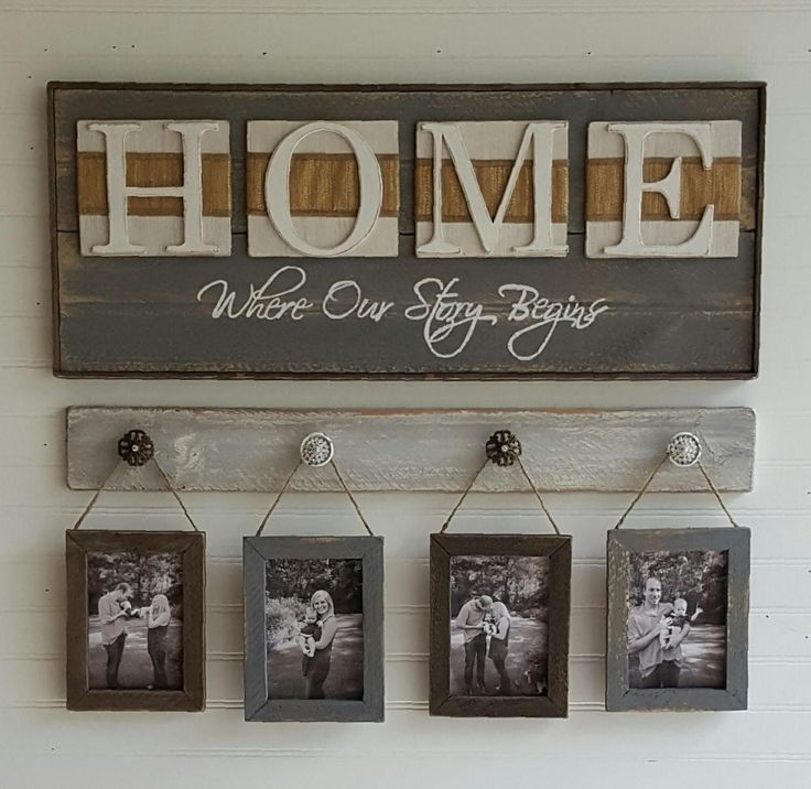 rustic home sign home where our story begins country. Black Bedroom Furniture Sets. Home Design Ideas