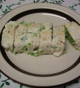 Japanese Omelette with tuna & cabbage (use only egg whites)【卵白消費】ツナキャベツ入り卵白の卵焼き